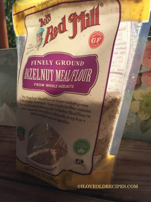 Bob's Red Mill HAZELNUT MEAL - www.iloveoldrecipes.com
