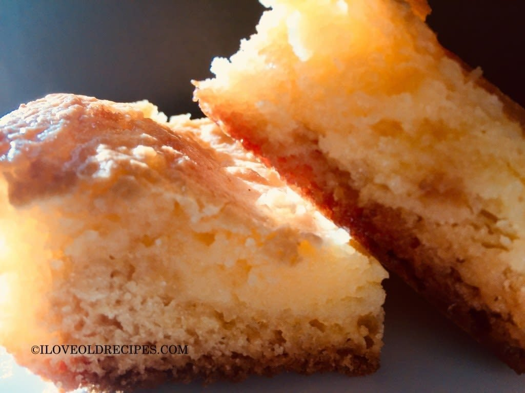 Kristi's chess squares - www.iloveoldrecipes.com