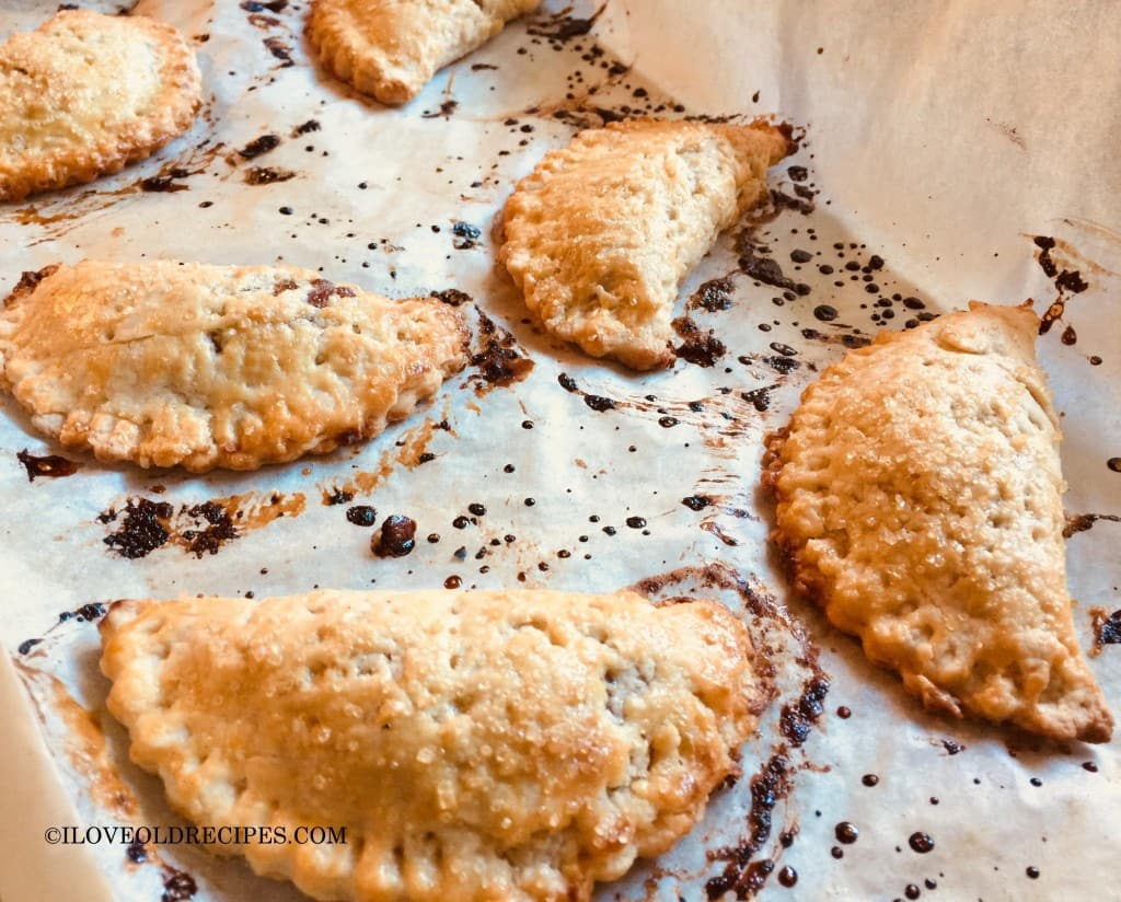 Apple Butter Hand Pies 1950s