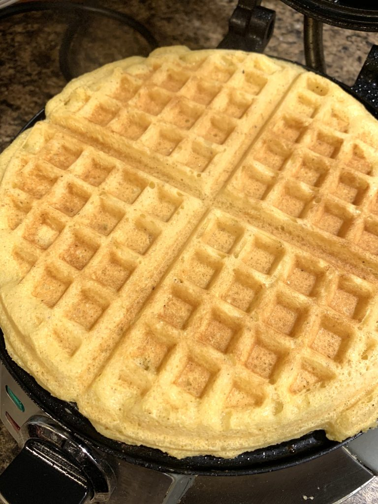 southern yellow corn waffles